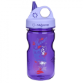 Láhev Nalgene Grip´n Gulp Kids purple hoot