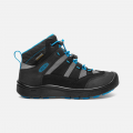 Keen Hikeport Mid WP JR black/blue jewel