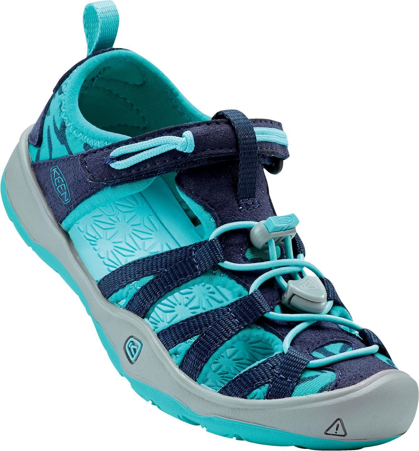 KEEN MOXIE SANDAL JR dress blue / virdinian